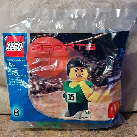 Lego Other - LEGO Vintage McDonald's Happy Meal 2004 #8 LEGO Sp